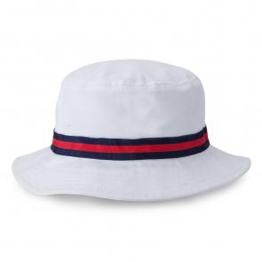 White Oxford Bucket Hat (1371)